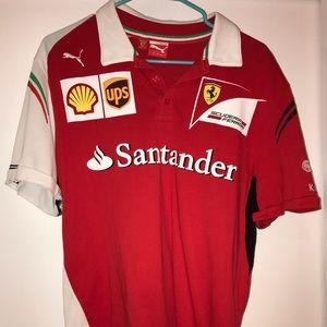 Official Scuderia Ferrari Team Puma Polo, Large